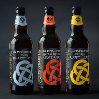 Stonewell Cider range of award winning Irish cider's made with love in County Cork