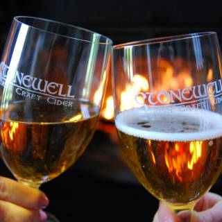 Stonewell Irish Craft Cider - delicious at Christmas and throughout the year