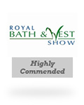 Royal Bath & West Show - highly commended cider award - Stonewell Cider