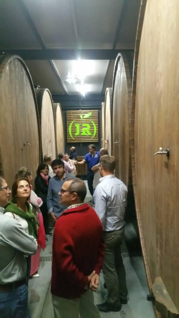 15000 litre oak barrels