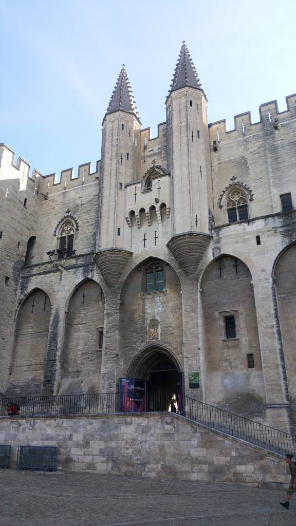 The Pope's Palace in Avignon