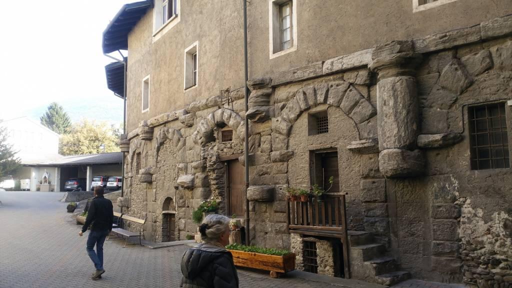 Aostan nunnery on its Roman foundations!