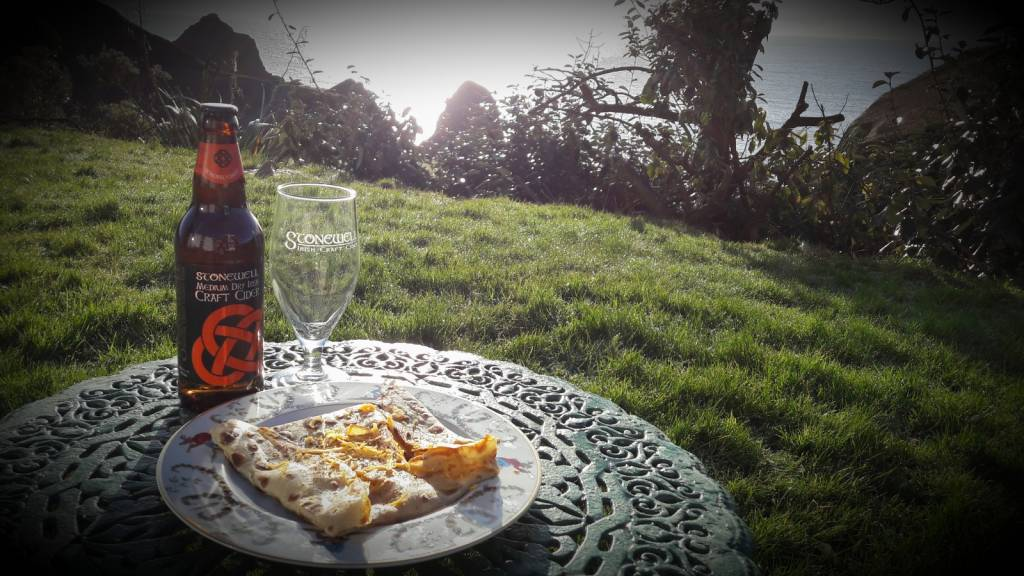pancakes with cider